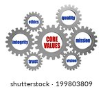 core values   words in 3d... | Shutterstock . vector #199803809