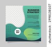general business flyer square.  ... | Shutterstock .eps vector #1998138107