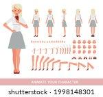 business woman wear white shirt ... | Shutterstock .eps vector #1998148301