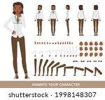 business woman wear white shirt ...   Shutterstock .eps vector #1998148307