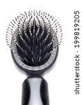hairbrush  close up | Shutterstock . vector #199819205
