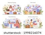 travel agency marketing... | Shutterstock .eps vector #1998216074