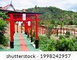 Red Torii Gate Of Wat Khao Sung ...