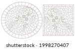 a set of contour illustrations...   Shutterstock .eps vector #1998270407