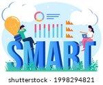 vector illustration of smart...   Shutterstock .eps vector #1998294821