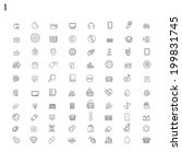 line icons | Shutterstock .eps vector #199831745