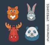 cartoon vector illustration of...   Shutterstock .eps vector #1998318401