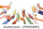 celebration and festivity ... | Shutterstock .eps vector #1998368891