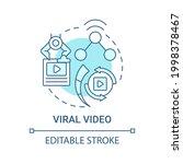 viral video concept icon. top... | Shutterstock .eps vector #1998378467