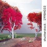autumn landscape | Shutterstock . vector #19984033