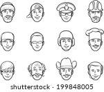 whiteboard drawing   cartoon...   Shutterstock .eps vector #199848005