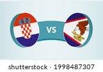 croatia versus american samoa ... | Shutterstock .eps vector #1998487307