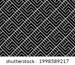 abstract geometric pattern with ... | Shutterstock .eps vector #1998589217