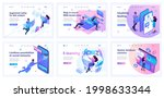 collection of landing pages.... | Shutterstock .eps vector #1998633344