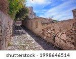 Steep Paved Pathway To Abbey Of ...