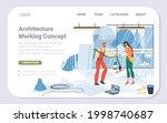 vector cartoon flat industrial... | Shutterstock .eps vector #1998740687