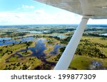 the view from an aircraft... | Shutterstock . vector #199877309