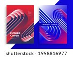 minimal geometric posters with...   Shutterstock .eps vector #1998816977
