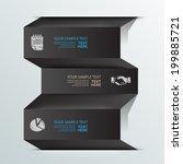 modern design for business... | Shutterstock .eps vector #199885721