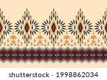 ethnic zigzag abstract... | Shutterstock .eps vector #1998862034