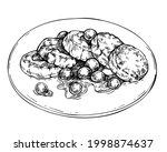 cheese pancakes  pancakes with...   Shutterstock .eps vector #1998874637