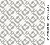 seamless pattern with rhombuses.... | Shutterstock .eps vector #199891151