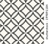 seamless pattern with rhombuses.... | Shutterstock .eps vector #199891184