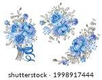 flower arrangement and bouquet...   Shutterstock .eps vector #1998917444
