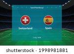 switzerland vs spain football... | Shutterstock .eps vector #1998981881