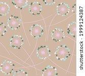 cute dandelion blowing vector...   Shutterstock .eps vector #1999124387