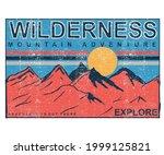 wilderness explore t shirt... | Shutterstock .eps vector #1999125821