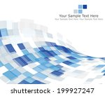 abstract checked pattern. eps... | Shutterstock .eps vector #199927247