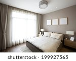 elegant house bedroom interiors | Shutterstock . vector #199927565