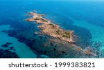 Tiny Island On Sardegna Arial