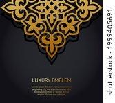 vector luxury islamic floral...   Shutterstock .eps vector #1999405691