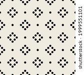 vector seamless pattern. modern ... | Shutterstock .eps vector #1999551101
