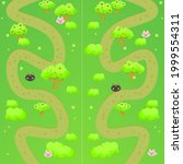 game ui map mobile web trees...