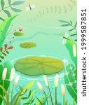 pond  swamp or lake scenery...   Shutterstock .eps vector #1999587851