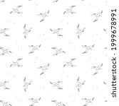 seamless pattern with...   Shutterstock .eps vector #1999678991