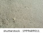 White Sand With Small Stones On ...