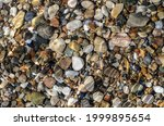 Abstract Pebble Background....