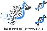 fractured pixelated genetic... | Shutterstock .eps vector #1999935791