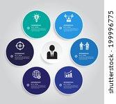 modern business design template ... | Shutterstock .eps vector #199996775