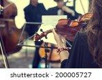 classical music concert... | Shutterstock . vector #200005727
