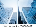 the office building close up | Shutterstock . vector #200008607