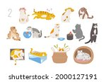 cute and funny cats of various...   Shutterstock .eps vector #2000127191