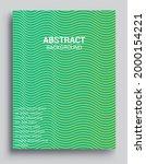 minimal covers design....   Shutterstock .eps vector #2000154221