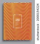 minimal covers design....   Shutterstock .eps vector #2000154224