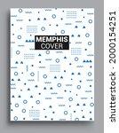 memphis design elements...   Shutterstock .eps vector #2000154251