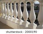 greek style balustrade in... | Shutterstock . vector #2000190